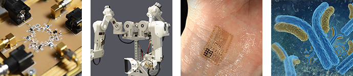 Photo of Radio-frequency circulator, robotic exoskeleton, electronic tattoo, and pertussis antibodies