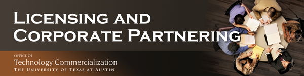 [ Licensing and corporate partnering ]