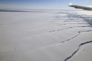 Antarctic Ice Rifting