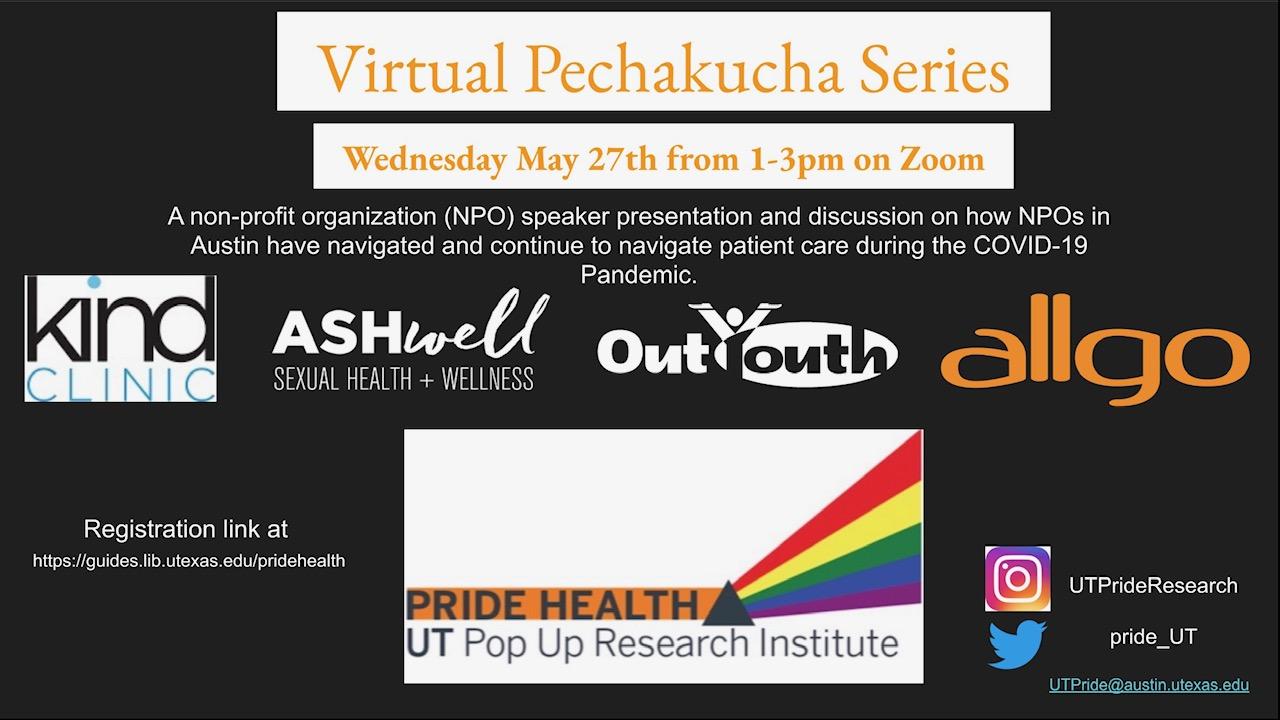 Pechakucha session flyer