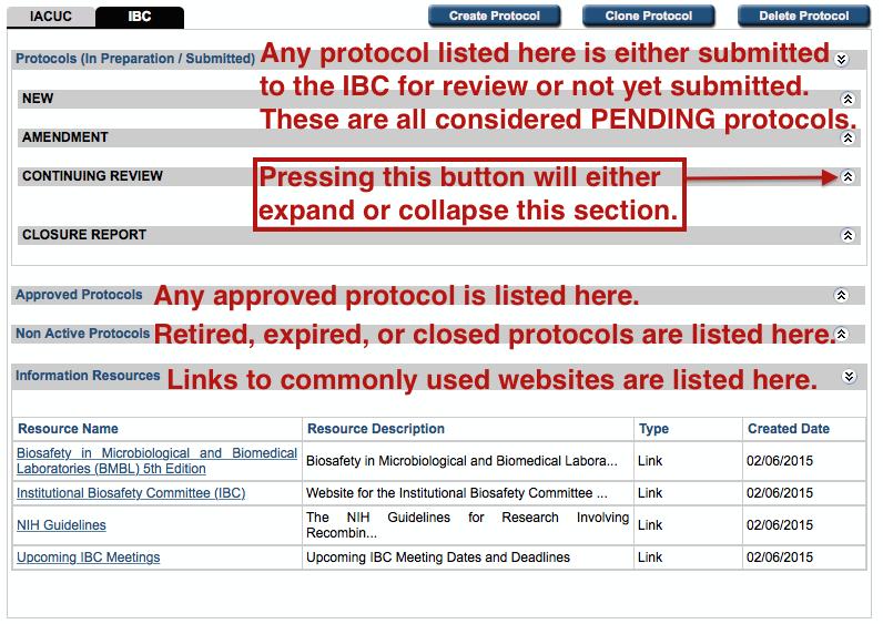 eProtocol IBC Homepage