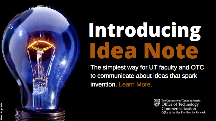 Introducing Idea Note
